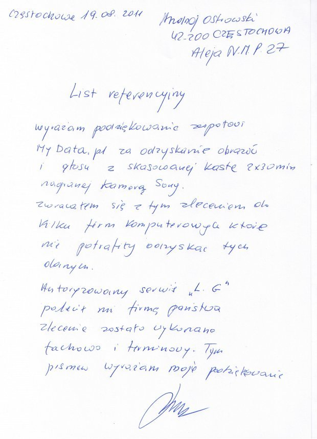 Refernecje-Andrzej-Ostrowski