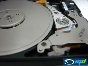 Western Digital WD1600BEVS-00UST0 - platter damage