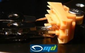 ST9160310AS uszkodzenie głowic - powiększenie
