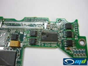 Maxtor Athena PCB damage