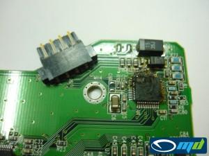 WDC32 PCB damage