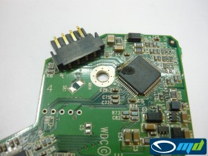 PCB damage WD Hawk
