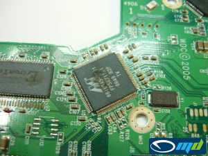 Western Digital PCB damage