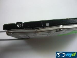 Fujitsu MHT2080AH - top cover damage