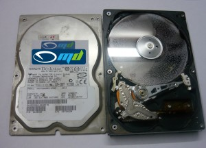 Data recovery - water damage
