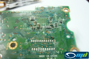 HDD water damage data recovery - PCB